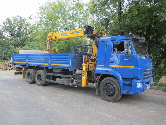 Кран-манипулятор 14 тонн