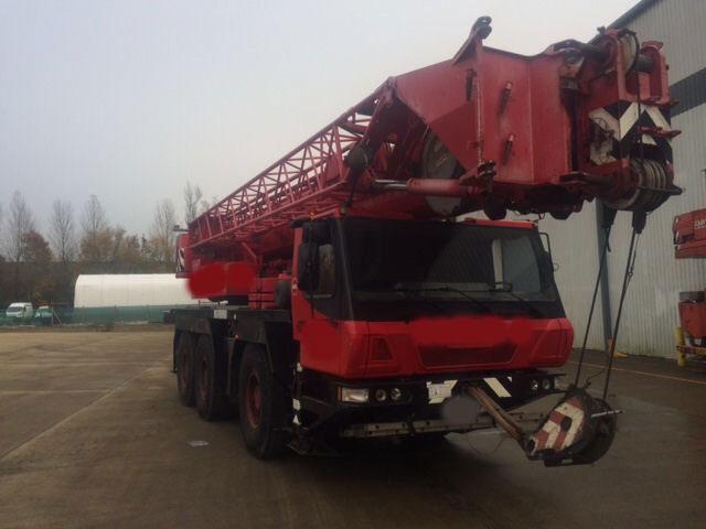 Автокран Liebherr 50 тонн ltm 1050