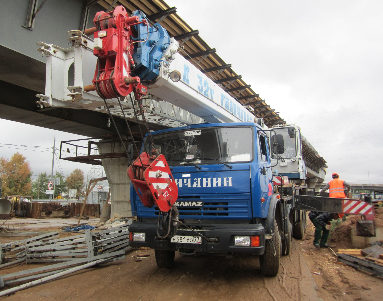 Автокран «Галичанин» г/п 32 тонны