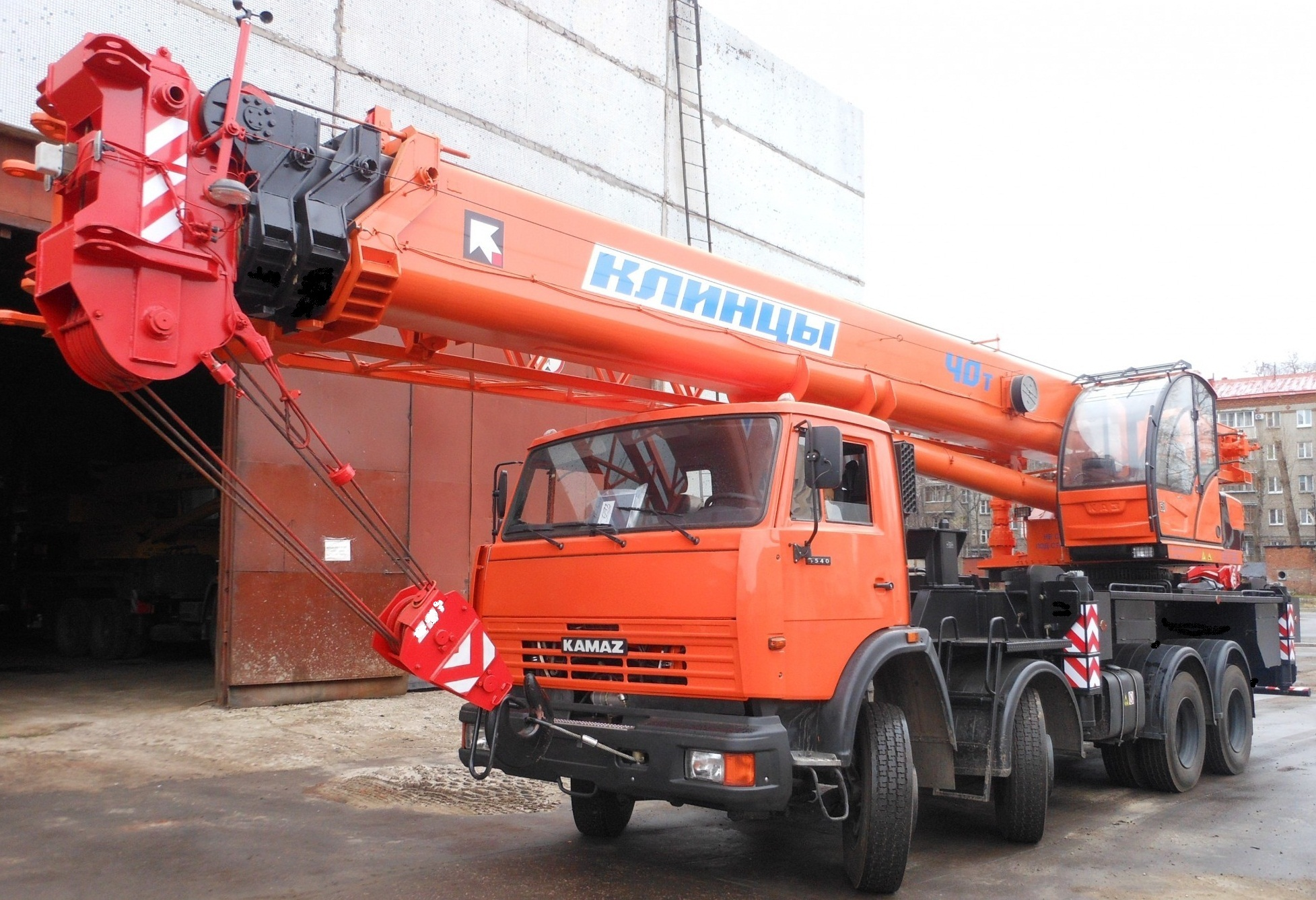 Автокран 40 тонн «Клинцы КС-65719»