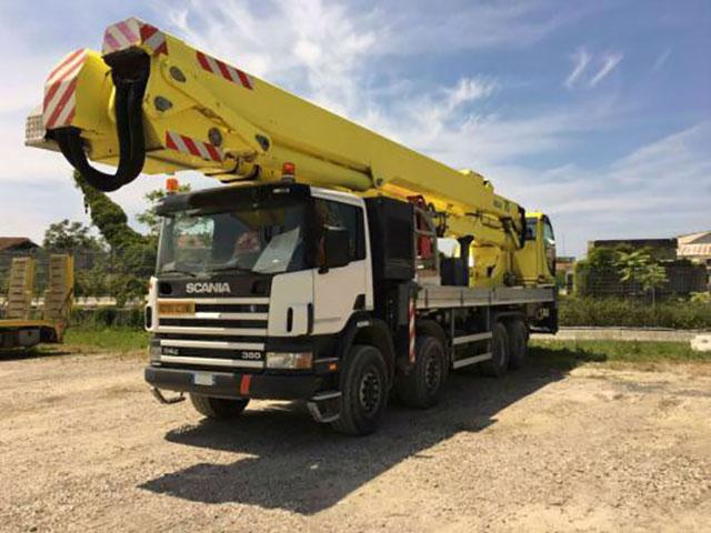Автовышка Scania 60 метров