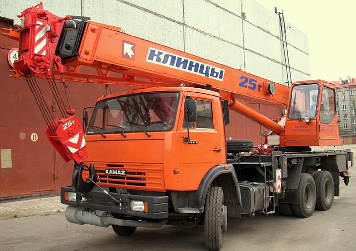 автокран г/п 25 тонн-Клинцы КС-55713